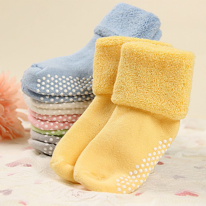 666dd70ba DreamShining Cotton Baby Socks Autumn And Winter Thicken Warm ...