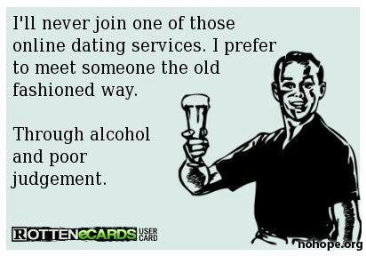No online dating for me haha