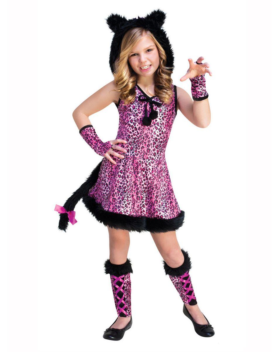 Pink Kitty Girls Costume u2013 Spirit Halloween  sc 1 st  Pinterest & Pink Kitty Girls Costume u2013 Spirit Halloween | Halloween | Pinterest ...