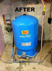 Pro Plumber Advice Well Tank Troubleshooting Well Tank Well Pump Repair Plumbing Drains