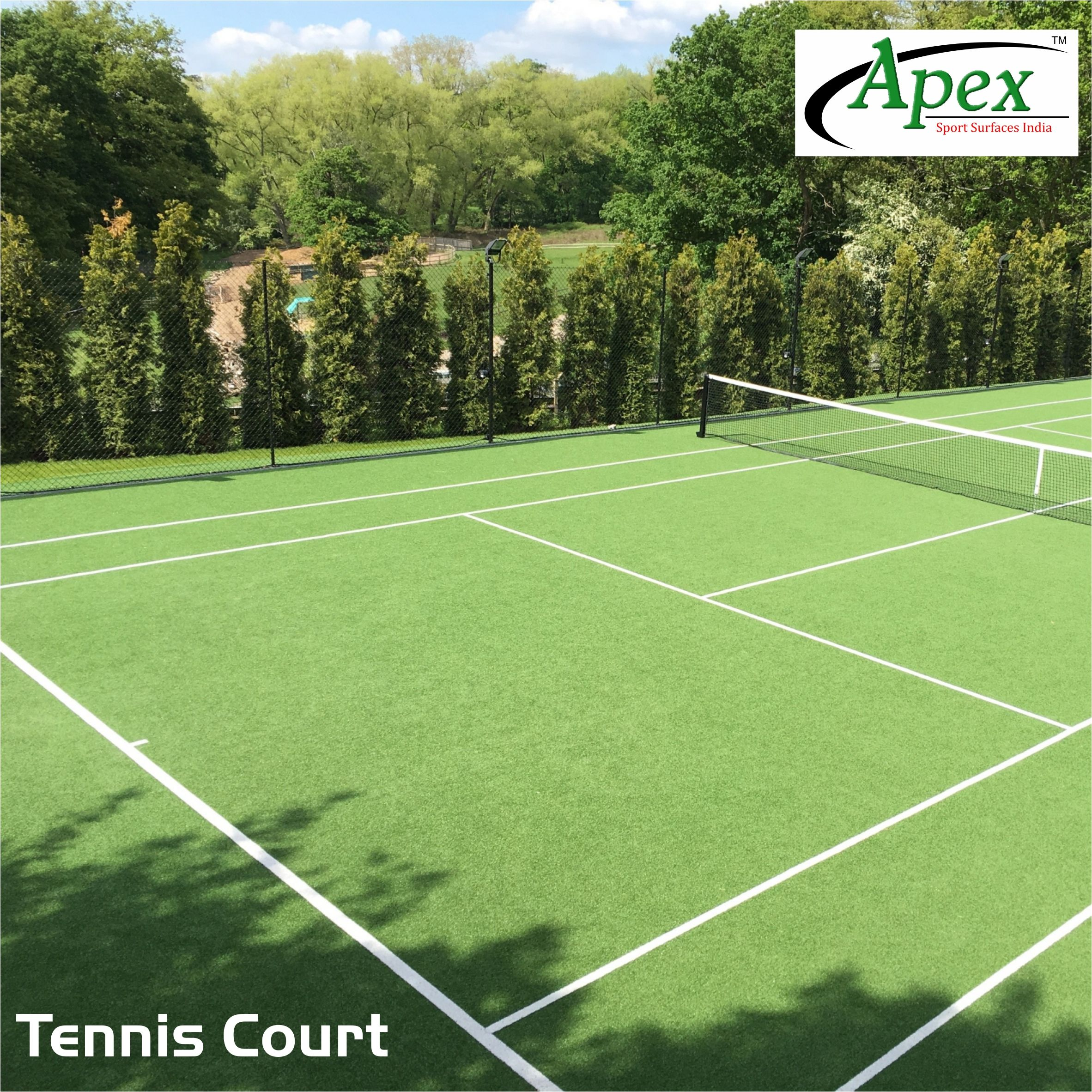 Apex Tennis Courts Are Classy And Good To Play On Have You Tried Our Courts Yet Badminton Play Sports Surfaces Ground Tennis Tennis Court Tennis Event