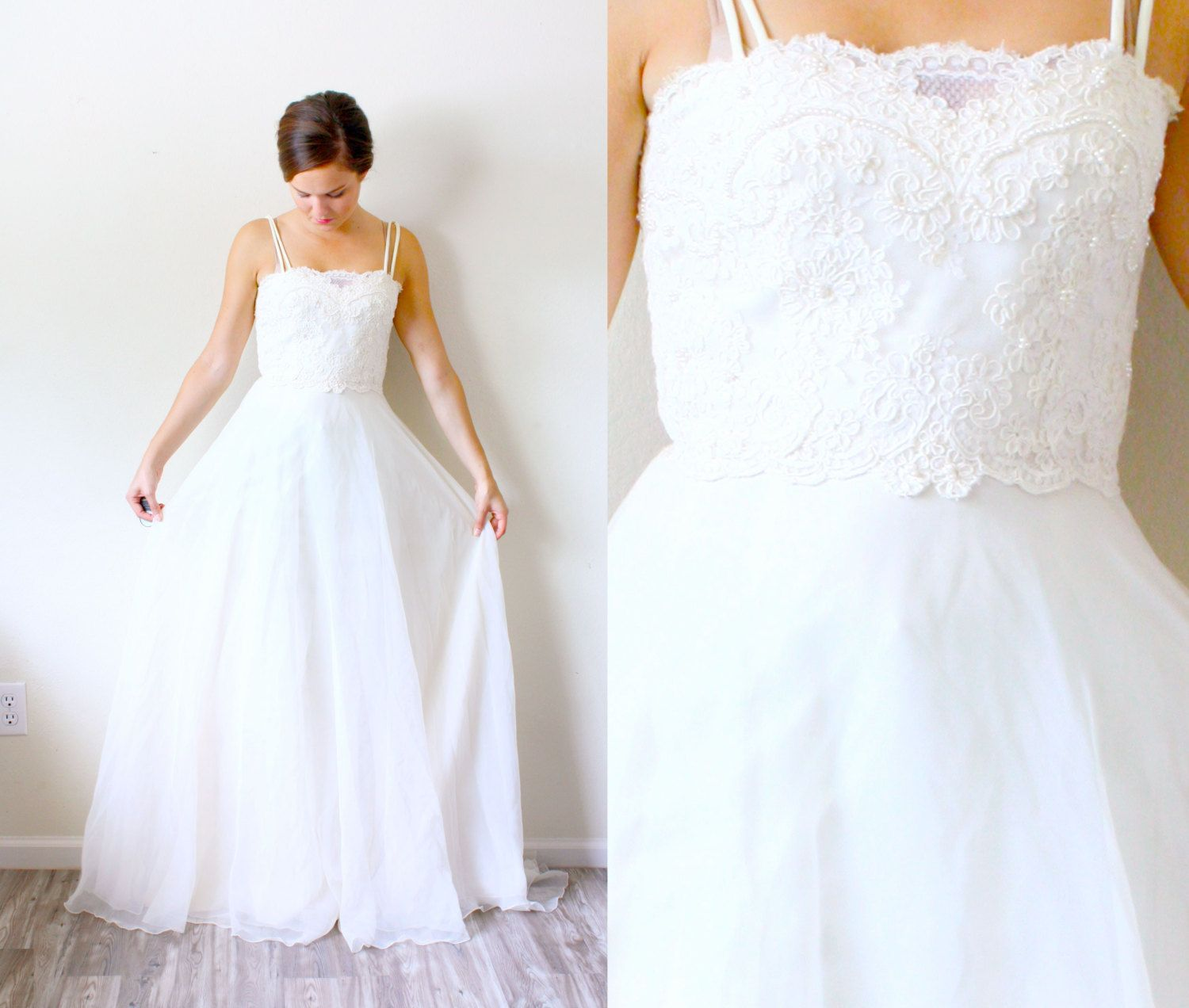 My fav vintage wedding dress ivory lace wedding dress lace
