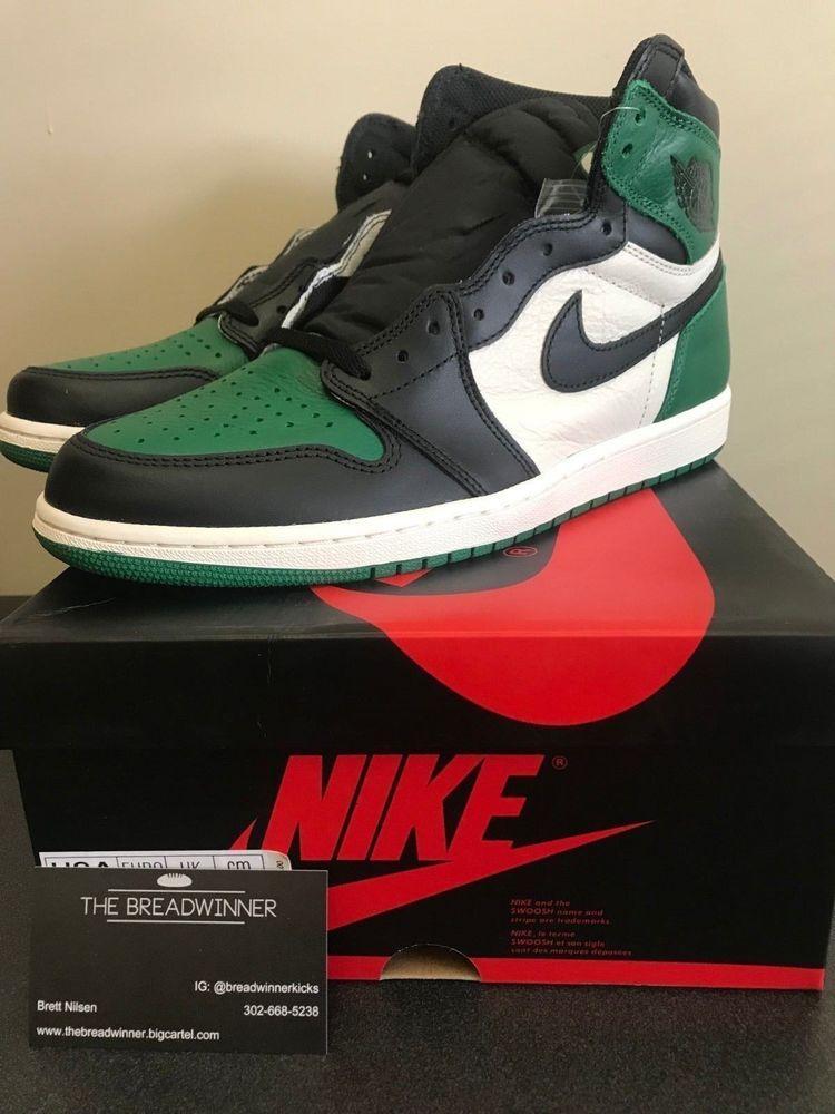 a16a2e709d74ec AIR JORDAN 1 RETRO HIGH OG PINE GREEN 555088-302 Size 13  fashion  clothing   shoes  accessories  mensshoes  athleticshoes (ebay link)