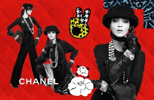 Chanel — Shot by Karl Lagerfeld, styled by Carine Roitfeld.