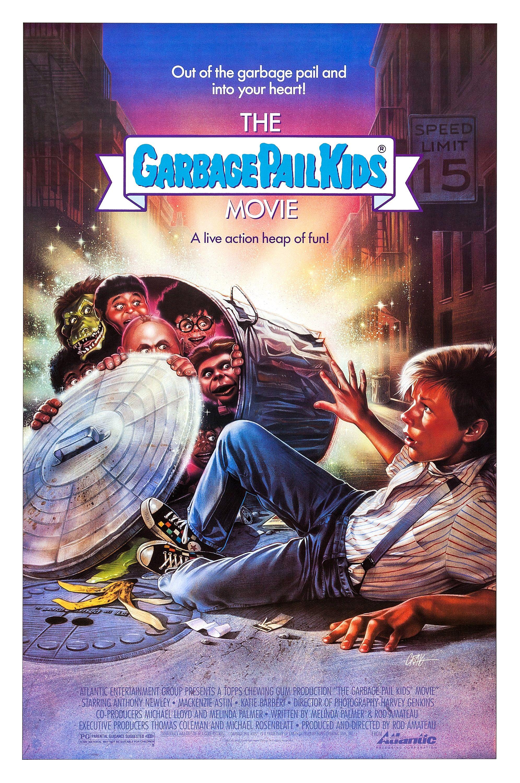 The Garbage Pail Kids Movie 1987 Garbage Pail Kids Kids Movie Poster Kid Movies