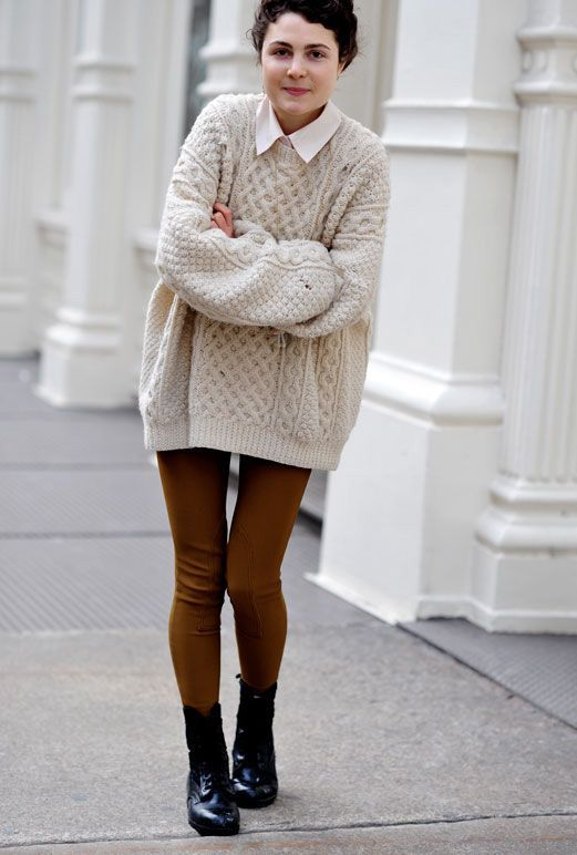 20 Style Tips On How To Wear Oversized Sweaters This Fall ...