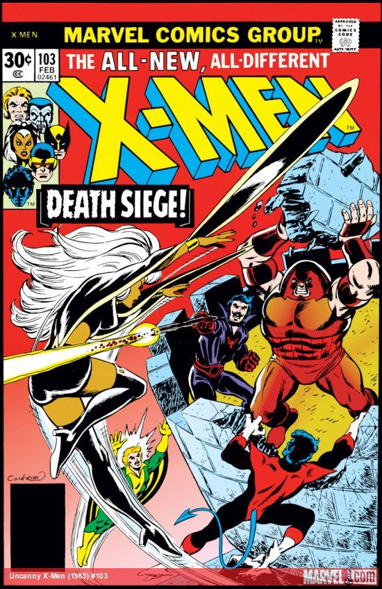 Uncanny X Men 1963 103 Comics Marvel Comics Covers X Men