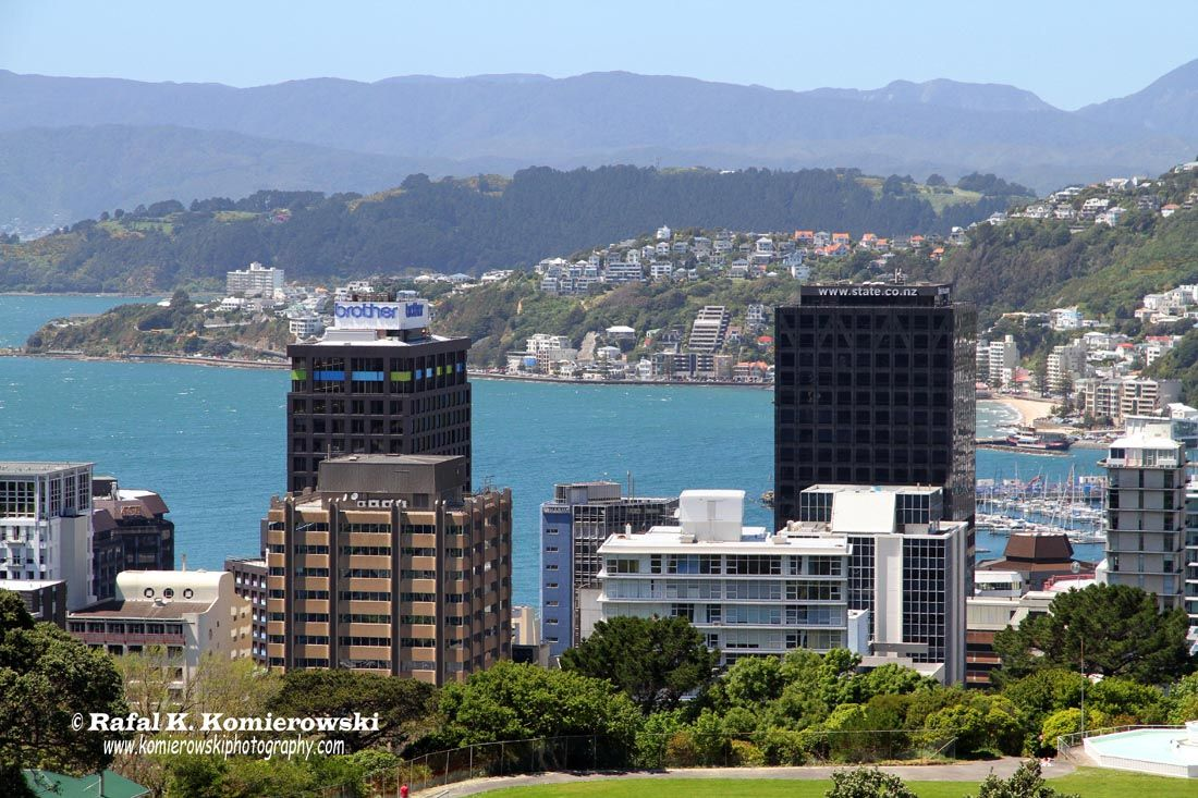 Wellington, New Zealand New zealand, San francisco skyline
