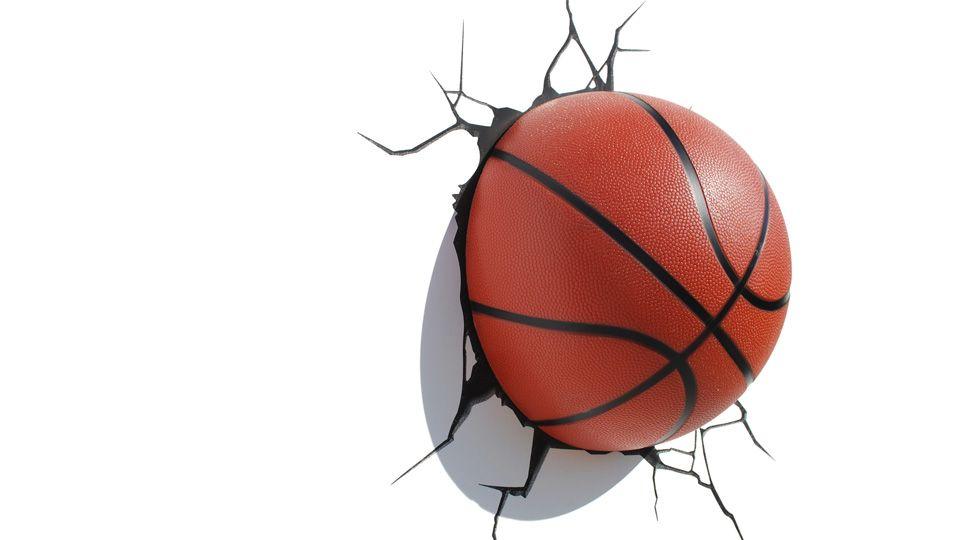 Ballon De Basketball 3dlightfx Panier Basketball Lampe Ballon