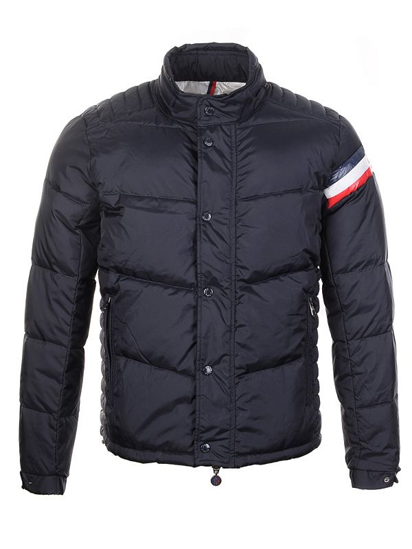 High fashion Moncler Men Chamonix Black Jacket Just $258 CLICK IT!