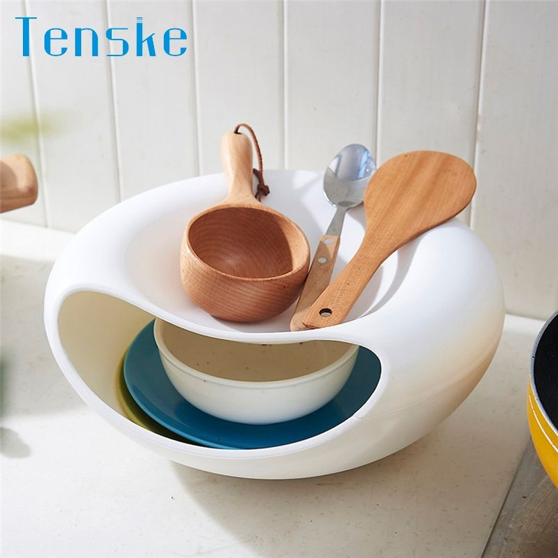 Tenske Storage Box Creative Bowl Shape Container Perfect For Containing Seeds Nuts Dry Fruits 20 Gift