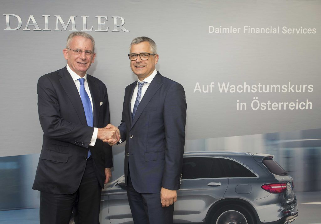 Austria Daimler Financial Services Acquires Wiesenthal Autohandels Ag S Welcome Financial Services Group Financial Services Financial Austria