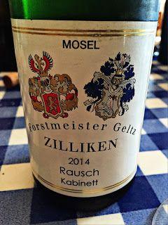 El Alma del Vino.: Weingut Forstmeister Geltz Zilliken Saarburg Rausch Riesling Kabinett 2014