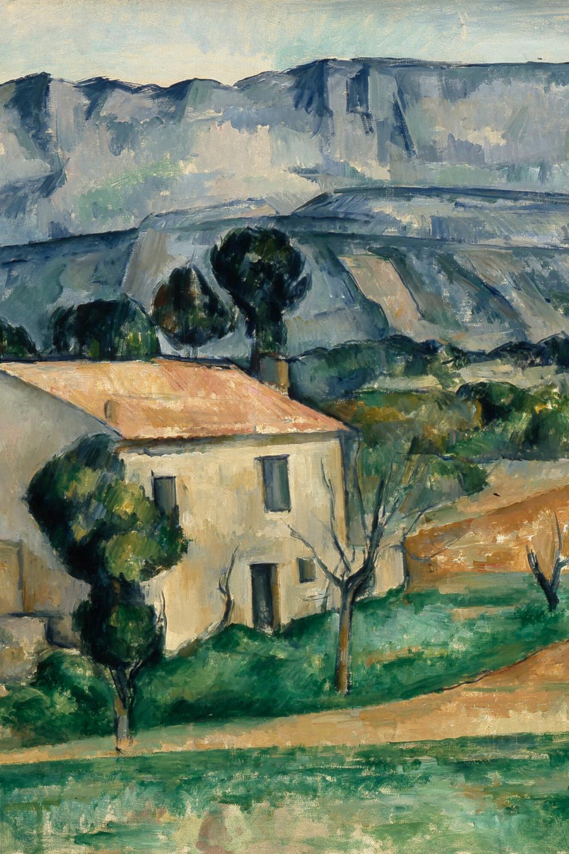 Paul Cezanne House In Provence Detail 1885 Paul Cezanne Paul Cezanne Paintings Cezanne