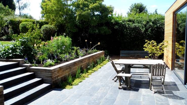 Jardins modernos por IJLA