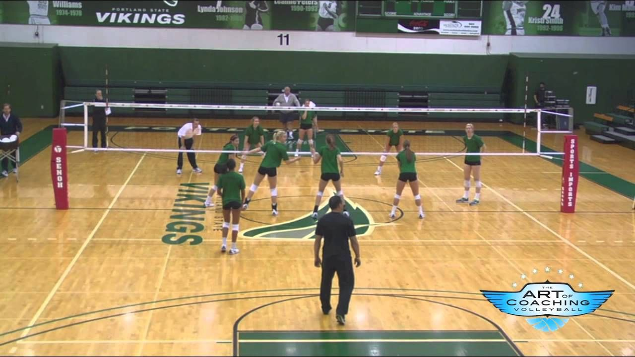 Art Of Coaching Volleyball Pass For Points Drill Diane Flick Coaching Volleyball Volleyball Skills Volleyball Drills