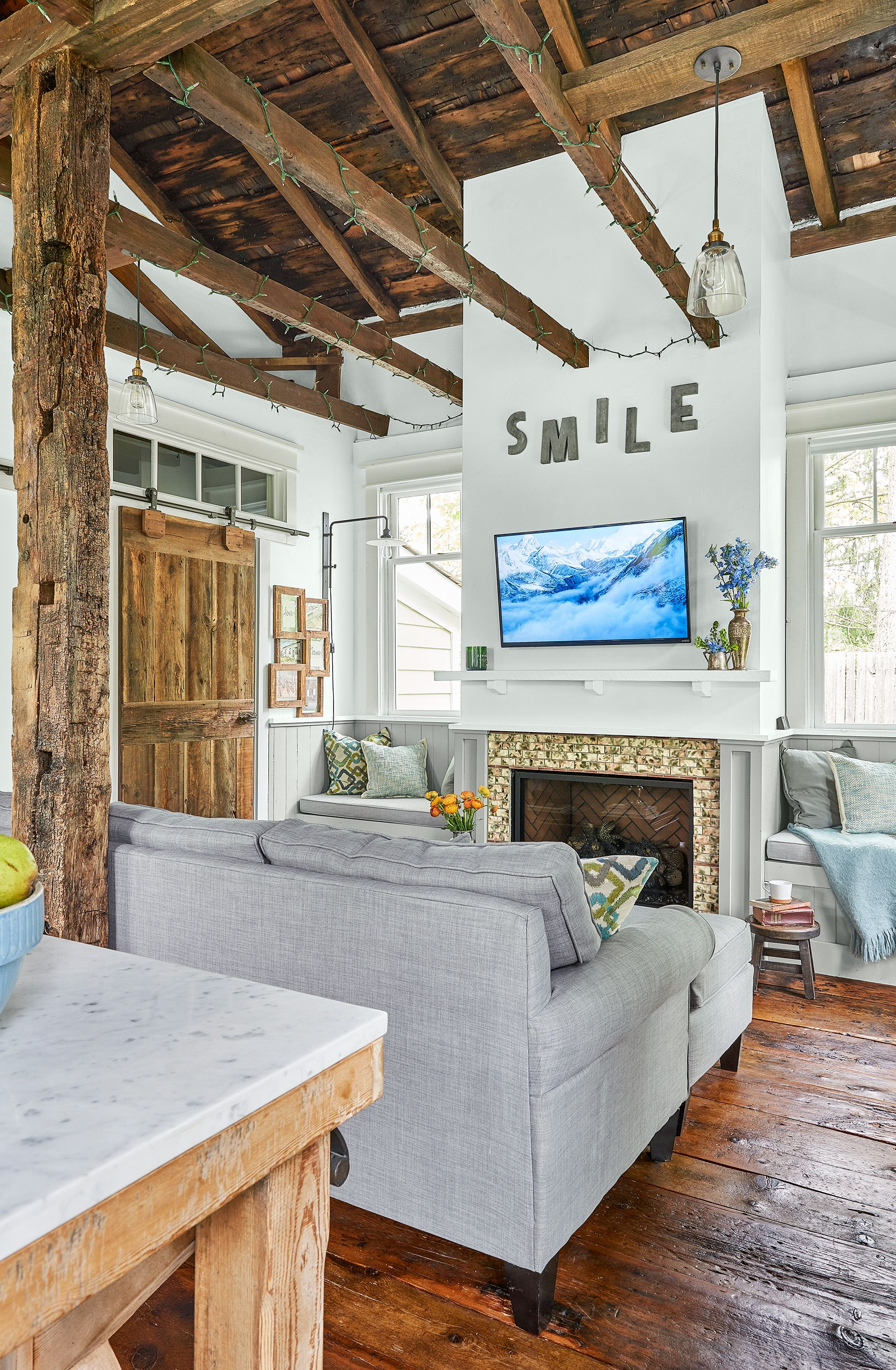 Most Beautiful Rooms Of The Year Modern Cabin Decor Cottage