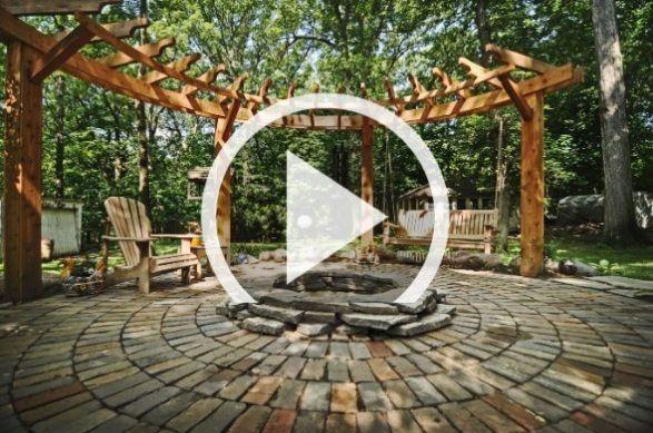 Feuerstelle im Garten bauen – 49 Ideen mit Sitzgelegenheit auf Terrasse