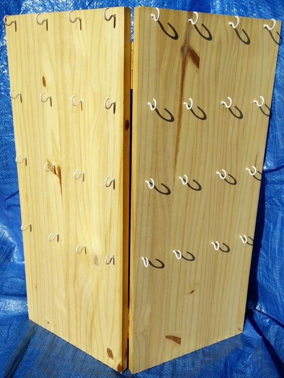 Custom Made Folding Wooden Craft Show Display Made To Any Size