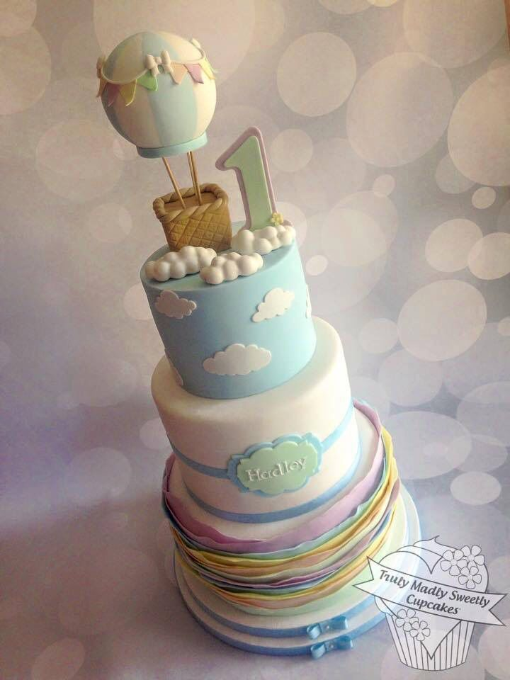 Hot Air Balloon Cake Shower Pinterest Balloon Cake Air