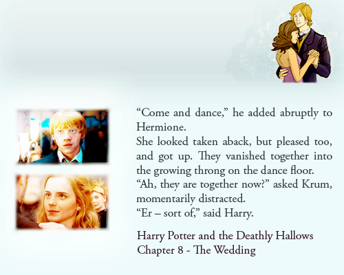 Top 5 Ron Hermione Moments That Are Not In The Films Harry Potter Universal Harry Potter Obsession Harry Potter Love