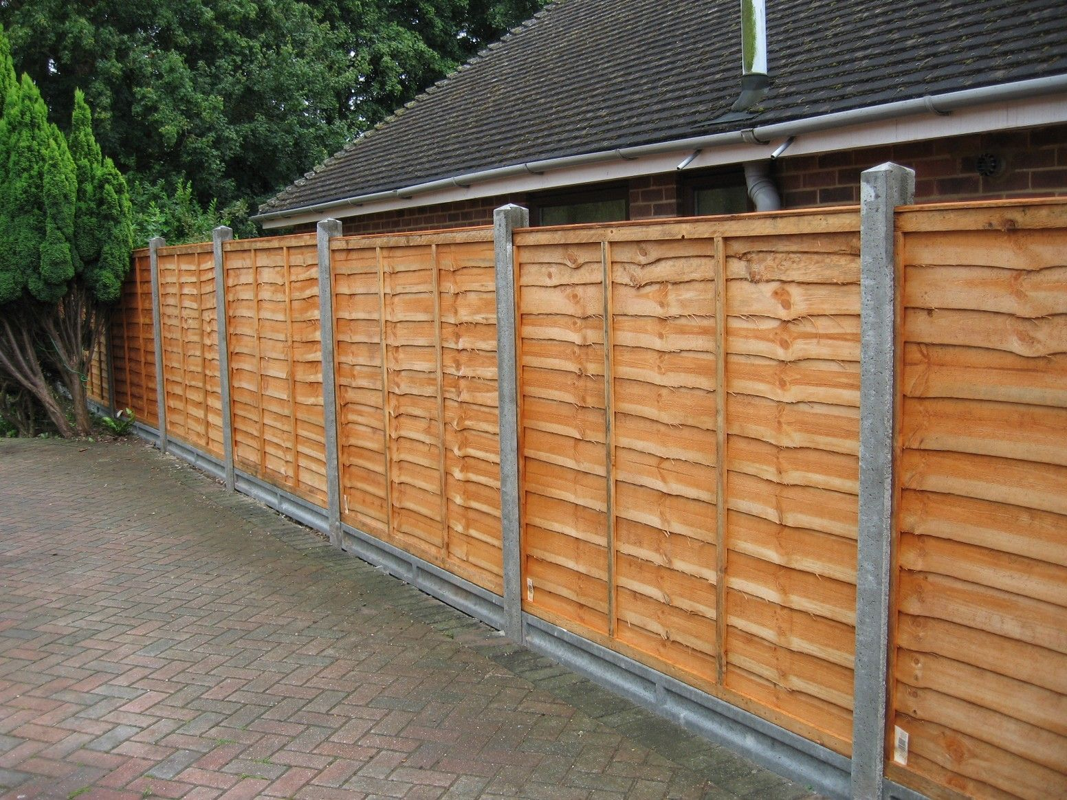 horizontal wood fence panels. Horizontal Fence Panels For Privacy And Protection - HomeStyleDiary.com Wood R