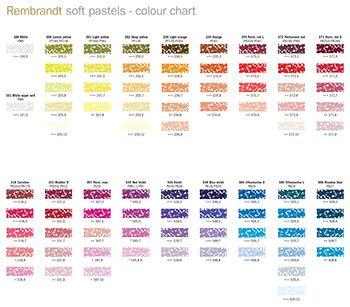 Image Result For Rembrandt Soft Pastel Color Chart Soft Pastel Color Chart Pastel Print