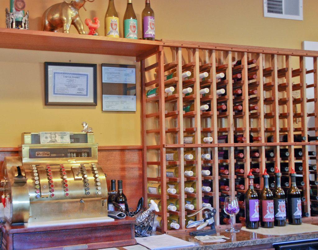 Winery Decor Vintage Style Cash Register