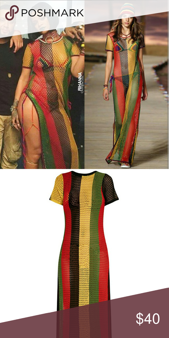 African/Rasta Dress like the one worn by Rihanna One size ...