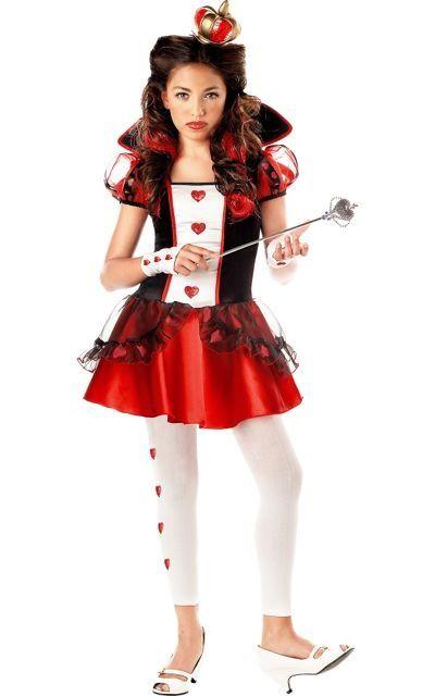 Tween Queen of Hearts from Wishcraft or Party City Alice in