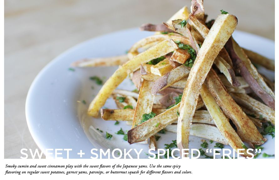 "10 Foods to Try by Whole Foods // Sweet + Smoky Spiced ""Fries"""