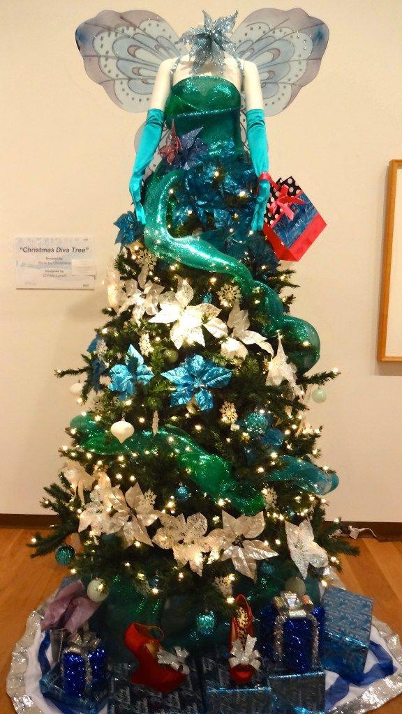 Festival Of Trees Orlando Museum Of Art Celebrating 30 Years Funandfork Orlando Museum Of Art Christmas Tree Themes Florida Christmas