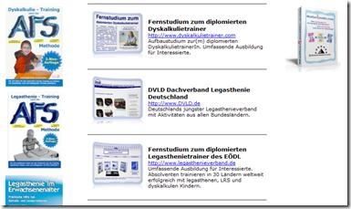 Links rund um Legasthenie und Dyskalkulie - many links ...