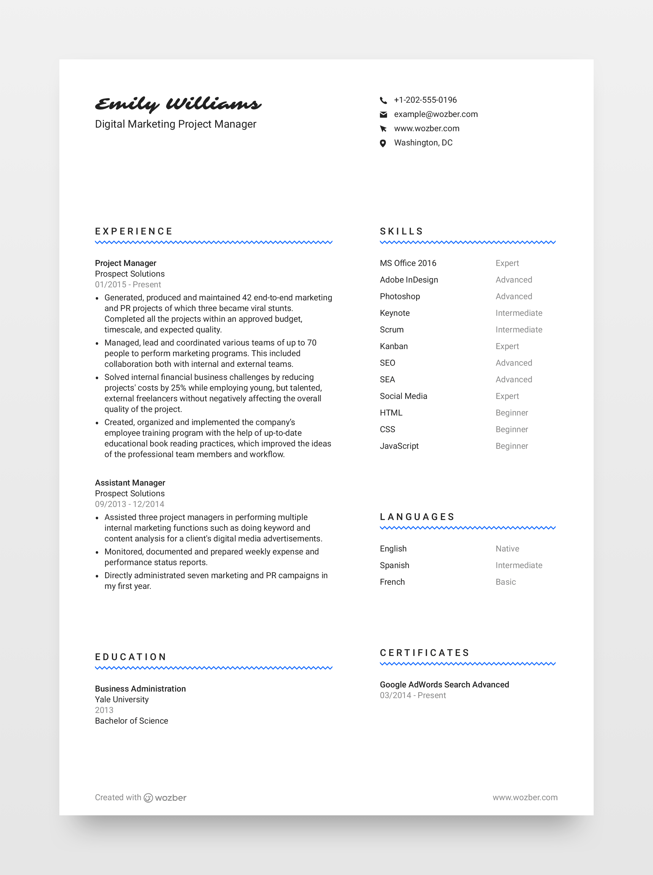 Free Resume Template 4 Wozber Resume Template Free Unique Resume Template Resume Template