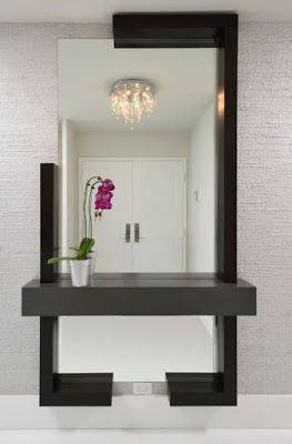 40 modern wall mirror design ideas for home wall decor on ideas for decorating entryway contemporary wall mirrors id=76392