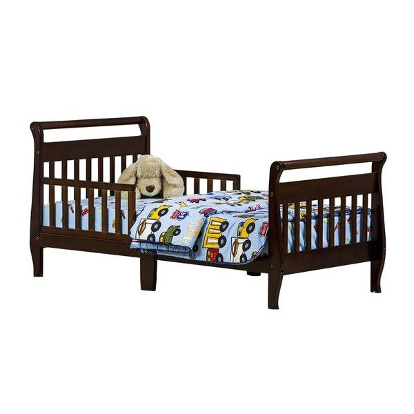 Toddler Sleigh Bed with Safety Rails Toddler Sleigh Bed with Safety Rails  Bambini ai primi. King Dhp Sleigh Beds   s rk com