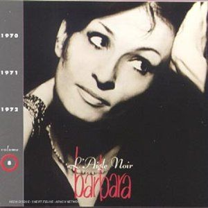 Réseau des médiathèques de l'Albigeois - L'Aigle noir . 1970-1971-1972 - Barbara