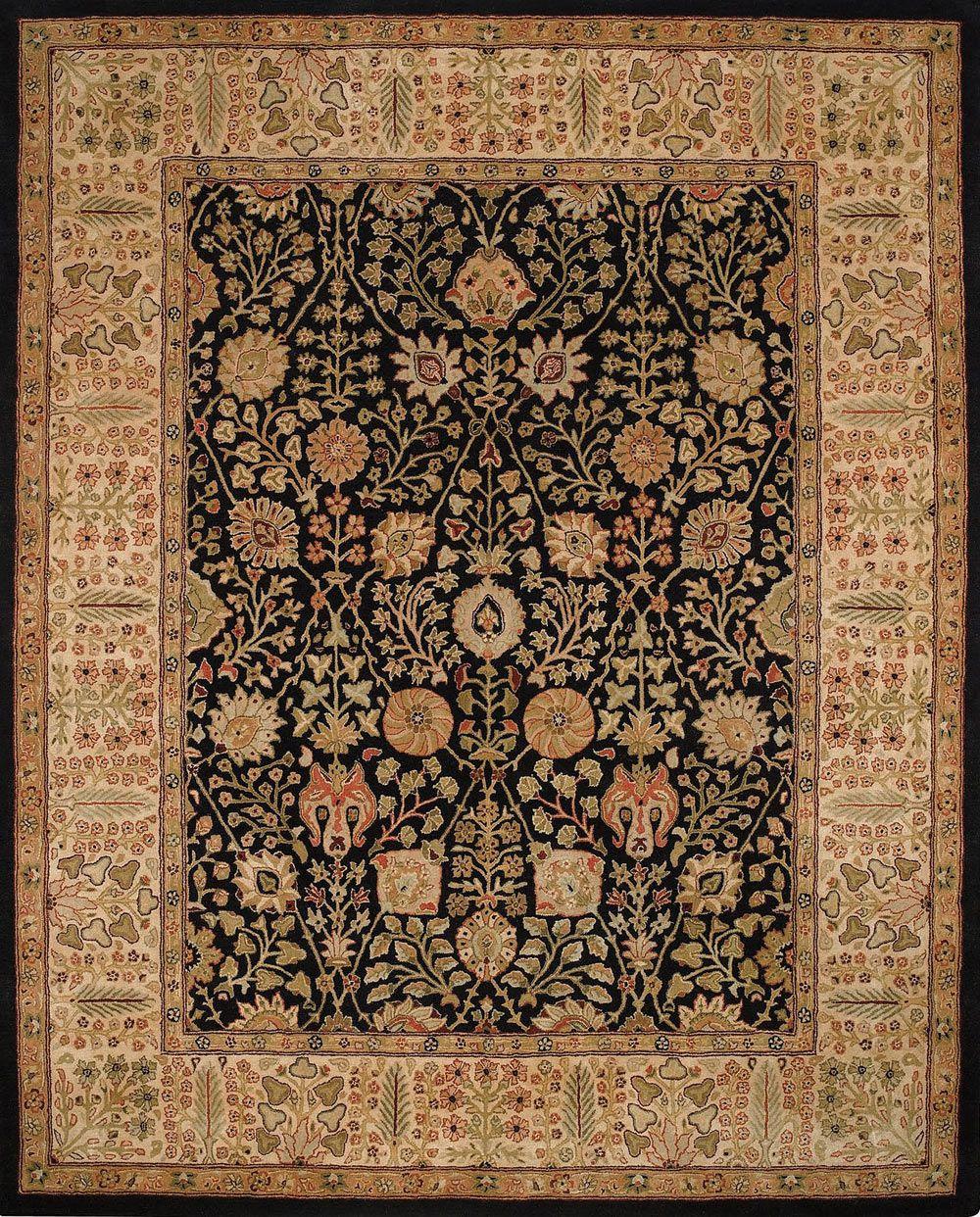 9292 350 Black Carpets Rugs Floral Area Rugs Carpet