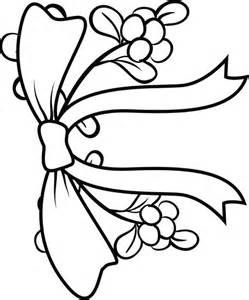 mistletoe coloring page mistletoe christmas coloring
