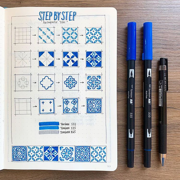 48 Bullet Journal Doodle Ideas Perfect for Beginners
