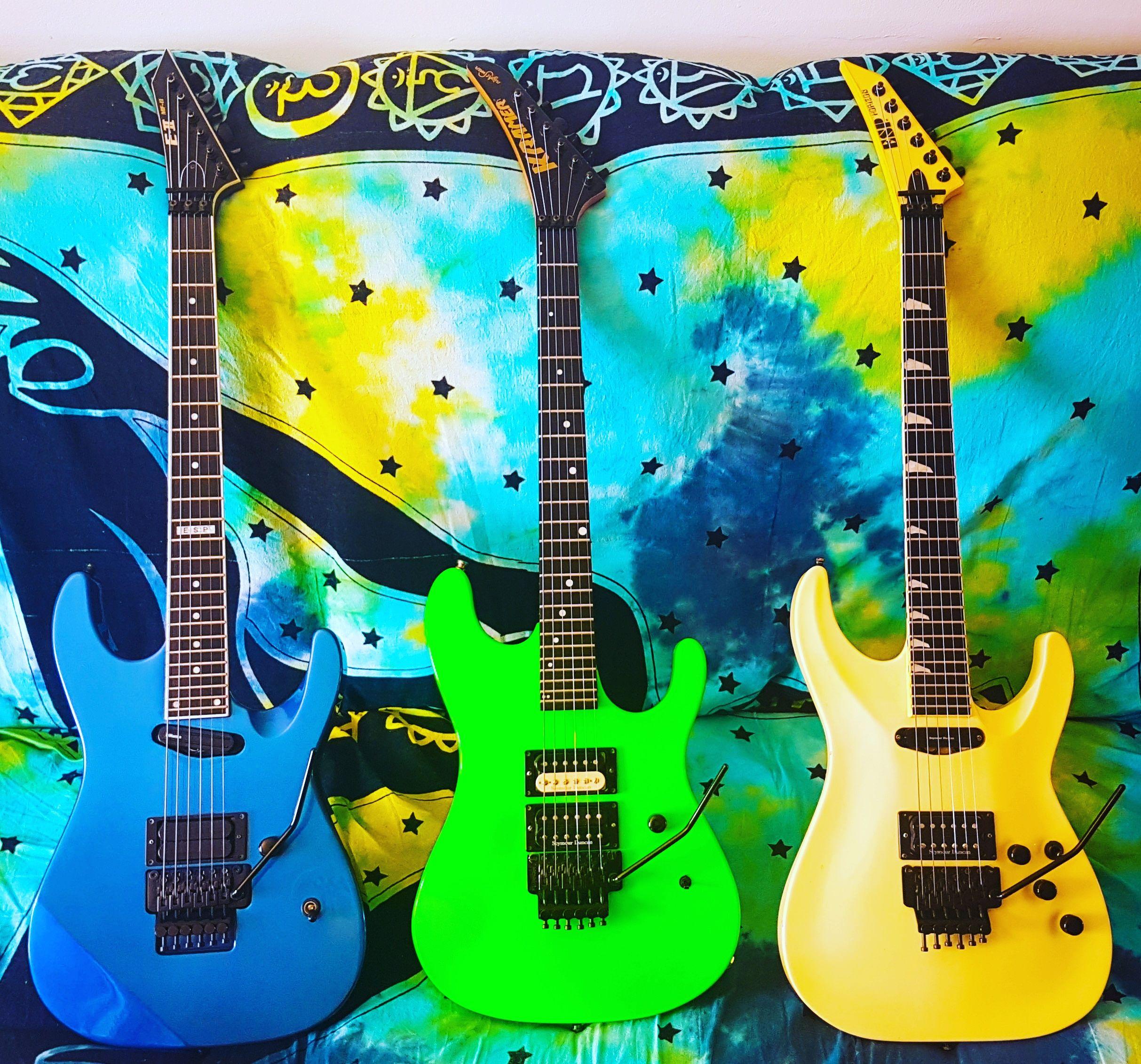 Superstrats Let S See Em Boutique Guitar Heavy Metal Guitar Guitar Design