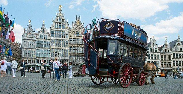 Antwerps Medieval Centre Antwerp World Cities Antwerp Belgium