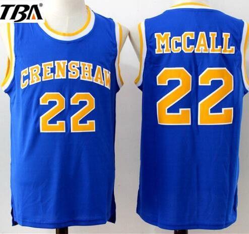 2a3ff0003 TBA Mens  22 CRENSHAW McCALL Cheap Throwback Film Basketball Jerseys ...