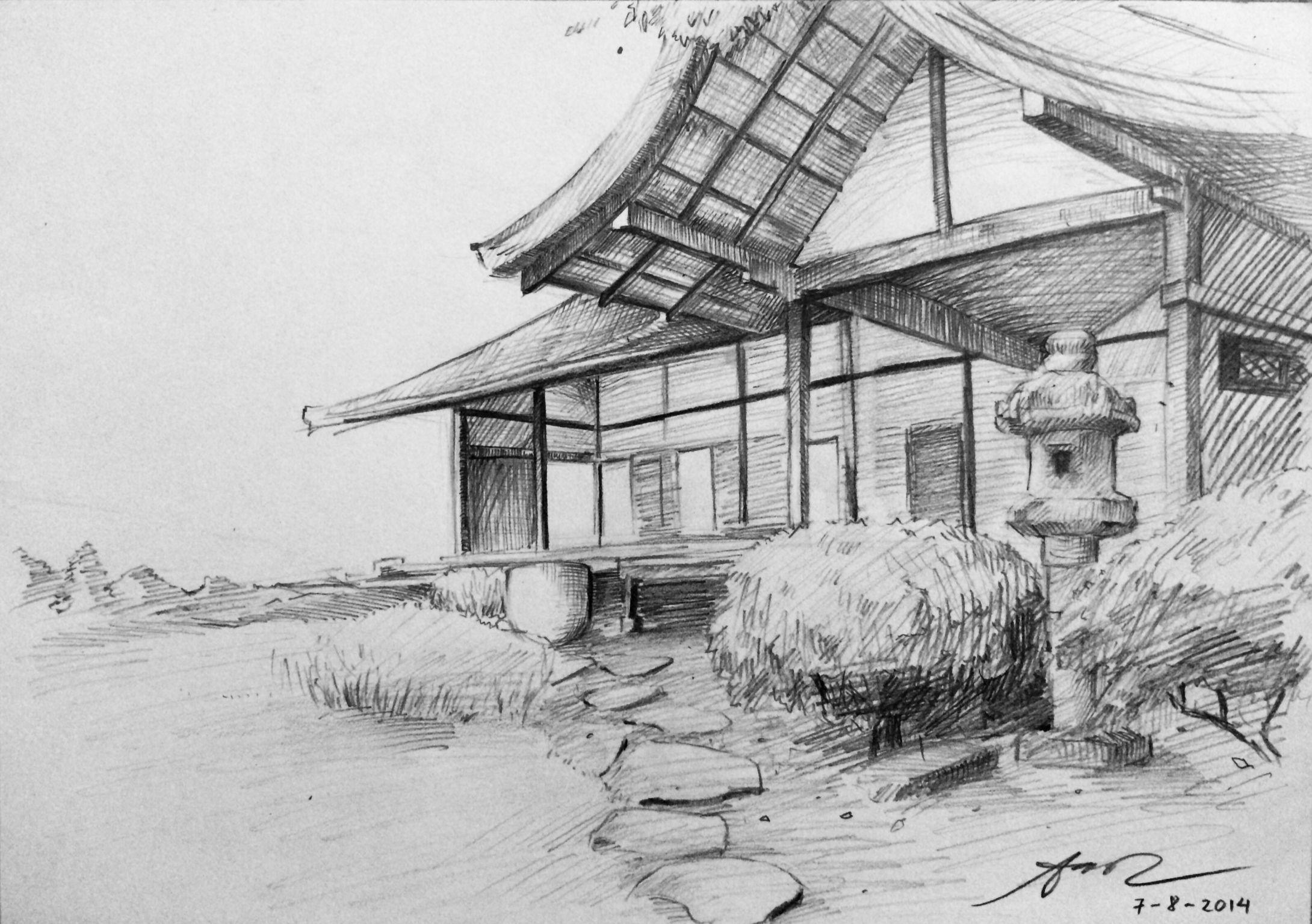 многие япония картинки рисунки карандашом сооружение были