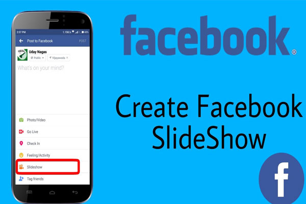Cómo crear una presentación de Facebook (2020 Image