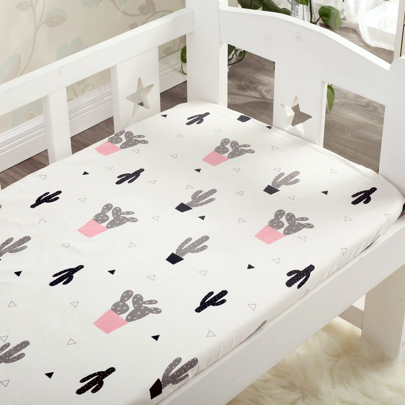 Click To Buy 1pcs 100 Cotton Mattress Cover 24 Colors Cotton Baby Fitted Sheet For Baby Girls Boys Crib Bed Shee Baby Bed Crib Bedding Boy Bed