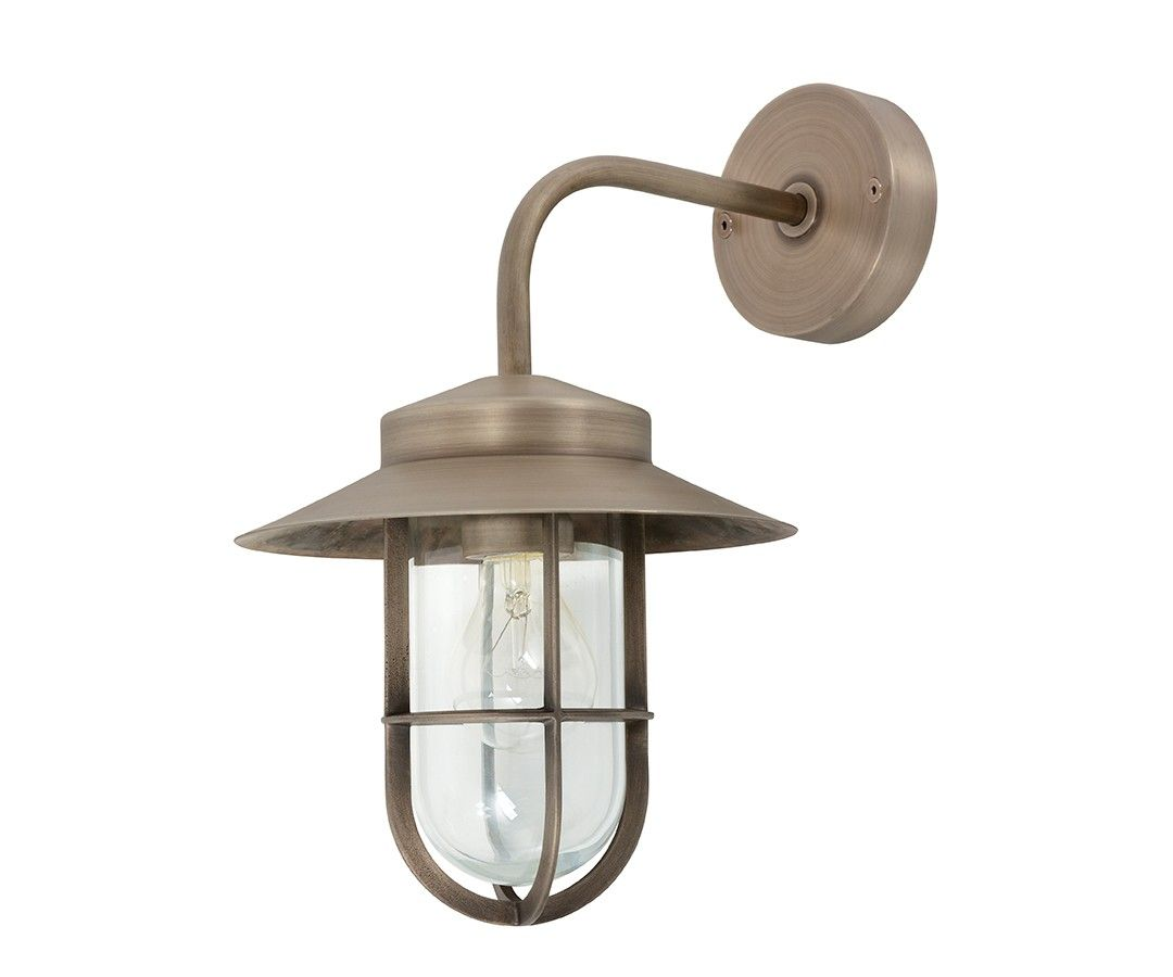 Landscape Lighting Instructions: Norwest Large Wall Bracket In Aged Nickel