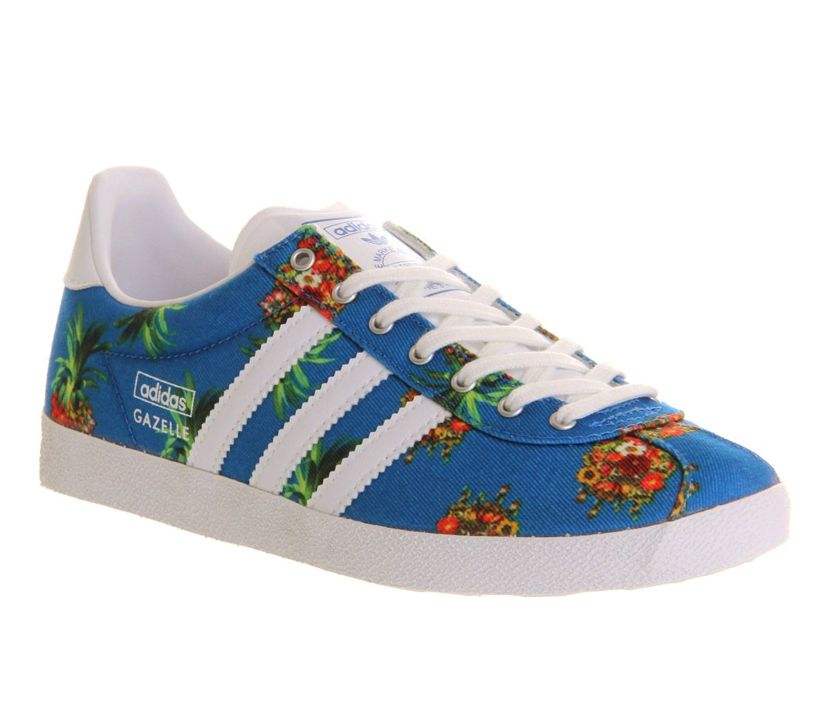 huge selection of 2f8fd a21b5 Adidas Gazelle Og W Farm Pineapple Flower - Hers trainers
