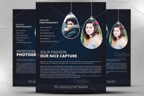 Check out Photo Collage Flyer Template by ultimatebundles on - photography flyer