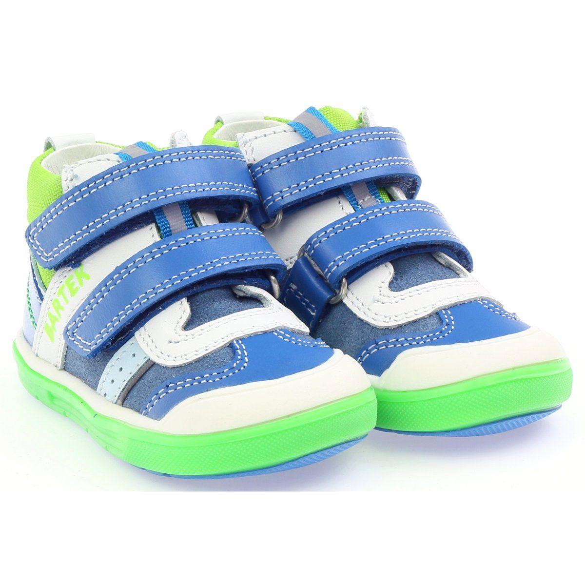 Trzewiki Chlopiece Odblaskowe Bartek 81859 Zielone Niebieskie Biale Baby Shoes Shoes Fashion